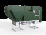 Separator Do Zboża Typu Zamkniętego 50-100 t/h COK-100