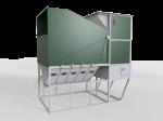 Separator Do Zboża Typu Otwartego 50-100 t/h ISM-100